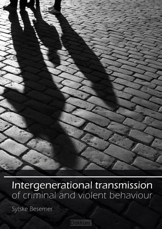 Intergenerational transmission of crimin