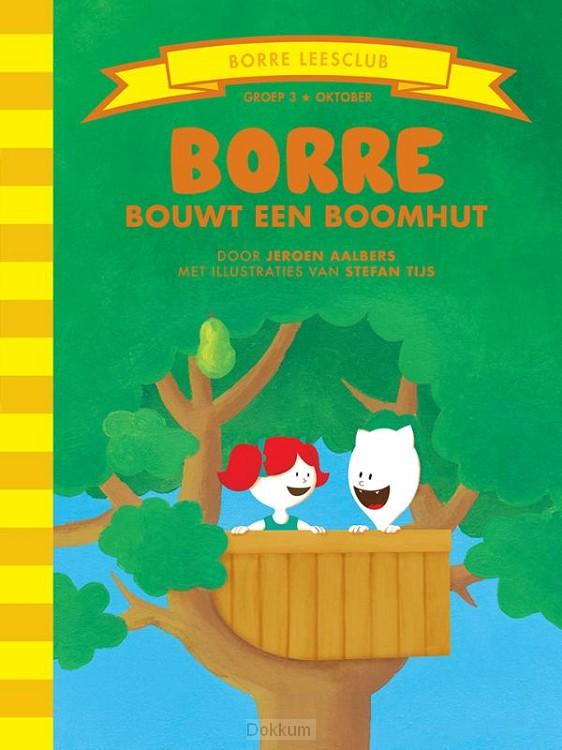 Borre bouwt een boomhut