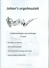Liedbewerking serie 1 voor orgel