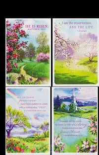 Cards Easter He is Risen (4)