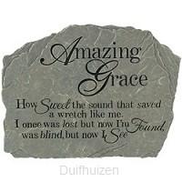 Amazing grace garden stone