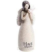 Figurine have faith