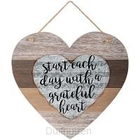 Heart large grateful heart