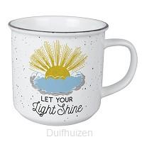 Vintage mug shine