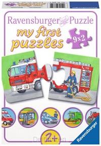 Puzzel 9x2 speciale voertuigen