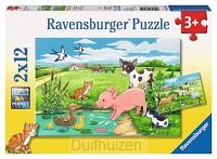 Jonge dieren puzzel