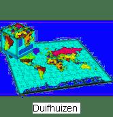 100 stukjes Atlas Map