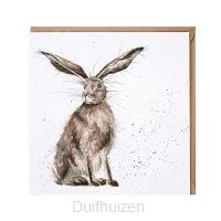 Wenskaart Good Hare Day