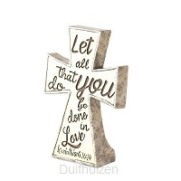 Cross Let all that you do