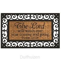 Doormat Lord watch over
