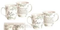 Mug Set Mr & Mrs Marriage takes three