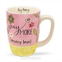 Mug Pray more worry less