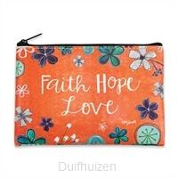 Coin Pouch Faith Hope Love