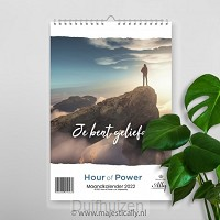 Maandkalender hour of power je bent geli