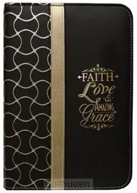 Zippered Journal Faith Love