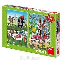 Puzzel 2x48 Molletje plezier