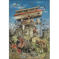 Kaart De Ark van Noach