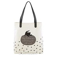 Purrfect tote Today I choose peace