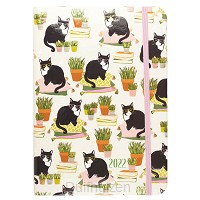 Compact Diary 2022 Cats