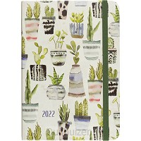 Compact Diary 2022 Succulents