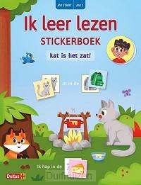 Stickerboek kat is het zat!