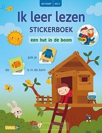 Ik leer lezen Stickerboek - Een hut in d
