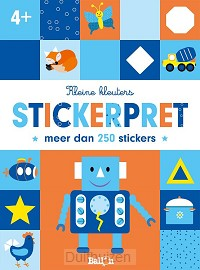 Stickerpret robot  4+