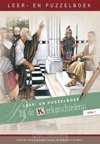 Leer- en puzzelboek bij de kerkgeschiede