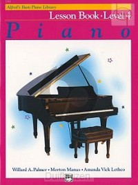 Alfred's Basic Piano Lesboek 4