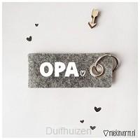 Sleutelhanger Opa