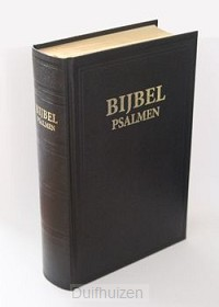 Kleine huisbijbel met psalmen goudsnee