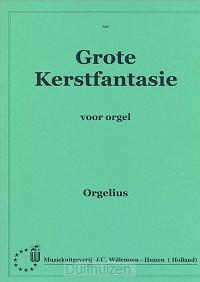 Grote Kerstfantasie voor orgel