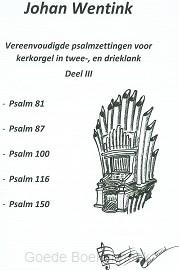 PSAMZETTING DL 3 VOOR KERKORGEL 2+3KLANK