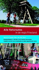 Alle fietsroutes regio friesland