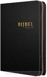 Bijbel hsv met psalmen zwart leer index