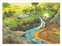 Houten puzzel zoekbijbel