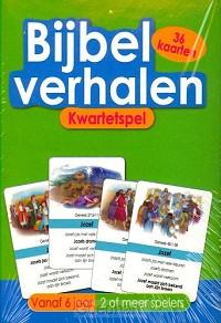 Kwartetspel bijbelverhalen