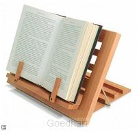 Houten boekensteun