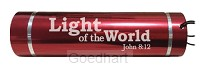 Led torch light-light of the world red