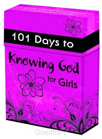 101 days to knowing God for girls (51 be