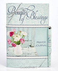 Journal pen bouquet of blessings