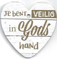 Je bent veilig in Gods Hand
