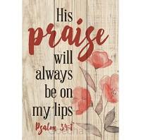 His praise wil