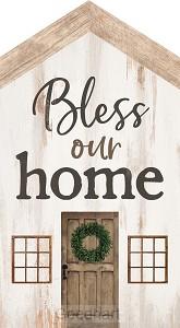 Houten huisje Bless our home