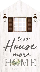 Houten huisje Less House more Home