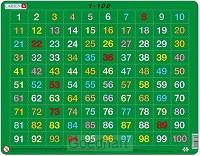 Larsen puzzel - Cijfers 1-100 - AR10