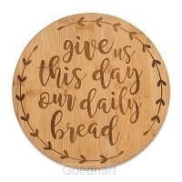 Bamboo trivet daily bread
