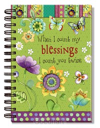 Journal When i count my blessings