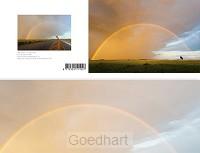 Panoramawenskaart zt rainbow in the sky