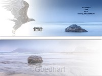 Panoramawenskaart mt Jezus alleen rots